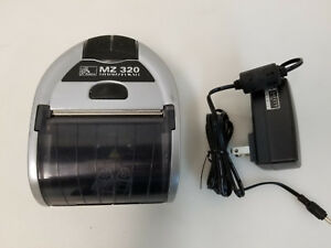 Zebra Mz320 Mz 320 Bluetooth Mobile Thrermal Receipt Printer With Charger