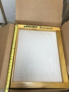 6 20x24 Burnt Wood Silk Screen Frame For Screen Printing Pocono Screen Supply