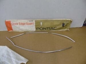 Nos Pontiac Grand Prix Accessory Door Edge Guards 1973 1974 1975 1976 1977 24