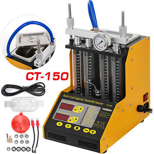 Autool Ct150 Ultrasonic Fuel Injector Cleaner tester For Car Motor 4 cylinder