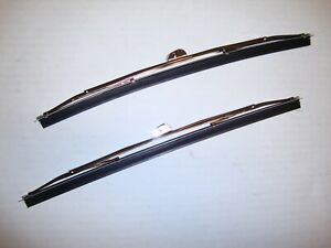 1955 1959 Chevrolet Truck 1953 1960 Ford Truck Windshield Wiper Blades Stainless