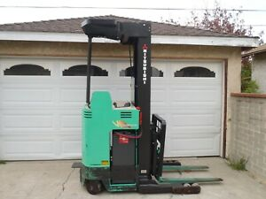 Mitsubishi Esr24 Electric Reach Forklift Only 1719 Hours