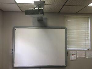 Promethean Activboard Abv378pro With Projector Prm 35 And Mounting