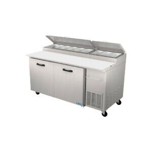 Pro kold Ppt 67 11 Pizza Prep Table Refrigerated Counter
