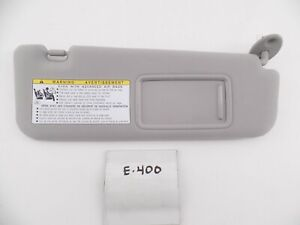 Oem Sun Visor Shade Cloth Right Gray Es350 Lighted Illuminated 07 08 09 Rh