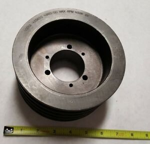 Dodge 455655 Sheave V belt Pulley 4 Groove 6 35 Od 4a5 6b6 0 sd