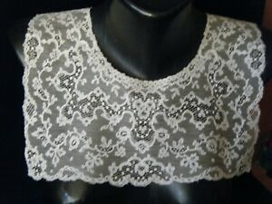 Unique Antique Collar 18c Buckinghamshire Or Bucks Point Bobbin Lace Englad