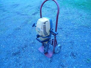 Atlas Copco Fb60 s Gas Powered Jack Hammer local Pickup Only