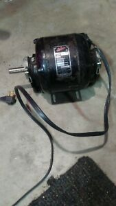 Vintage Packard 1 4 Hp Electric Motor 1 phase 1750 Rpm Model 7423