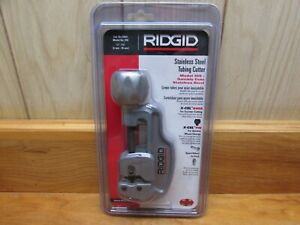 Ridgid Stainless Steel Tubing Cutter 29963 Model 35s For 1 4 To 1 3 8