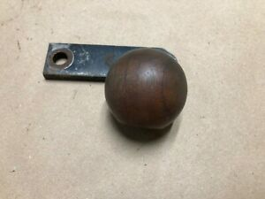 Vintage Walnut Wood Wooden Shift Knob Shifter Handle 4 Speed Muscle Car Hot Rod