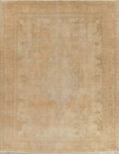 10x12 Hand Knotted Wool Floral Oriental Area Rug 12 4 X 9 6