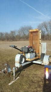 Hydraulic Drop Hammer Breaker Self Propelled Will Do 12 Of Concrete On Trailer