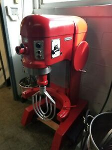 Hobart 60qt Commercial Bakery Dough Mixer With Bowl
