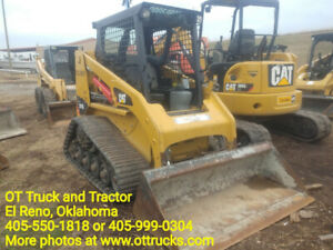 2015 Caterpillar 247b3 Track Skid Steer Loader 1354hrs 61hp 6700lbs Used