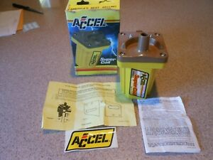 Accel 140001 Super Coil 45000 Volts Ignition Coil Has Small Cosmetic Nick