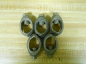 Copper Grounding Single Nuts For 1 Ground Rod Clamp pack Of 5