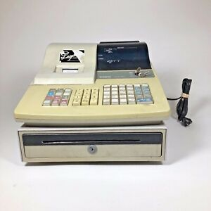 Casio Cash Register With Key Model pcr 360 For Pos Point Of Sale Retail Sales
