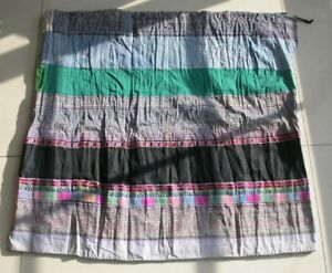 Chinese Minority People Girl S Old Batik Embroidery Skirt
