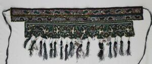 Old Tribal Exotic Chinese Dong People S Hand Embroidery Costume Skirt