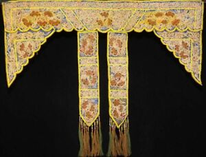 Tribal Exotic Chinese Dong People S Old Hand Embroidery Skirt Apron