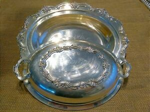 Wilcox International Silver Co Covered Dish