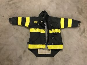 Morning Pride Bunker Jacket Turnout Gear Size Medium W very Short Sleeves