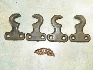 Antique Singer Treadle Sewing Machine Drawer Hooks 1918