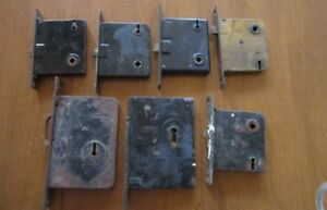 Vintage Antique Skeleton Key Mortise Door Locks