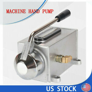 Manual Lubricating Oil Pump Hand Lubrication For Punching Lathe Milling Machine