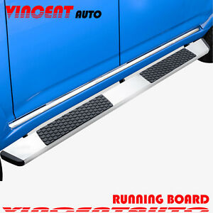 For 02 08 Dodge Ram 1500 Quad Cab 5 5 Running Board Side Step Nerf Bar Dw S S