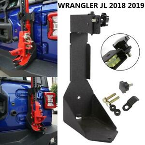 For 2018 2019 Jeep Wrangler Jl Off roadhood Tailgate Jack Mount Bracket