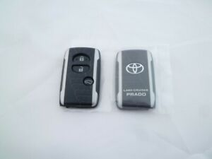 Toyota Land Cruiser Prado 150 Remote Key Shell Case Argento Cross Ep Tracking