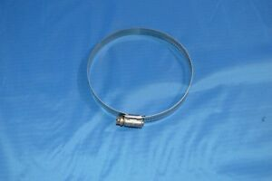 64 Hose Clamp All Stainless Steel 3 9 16 To 4 1 2 100 Pieces Marine Grade