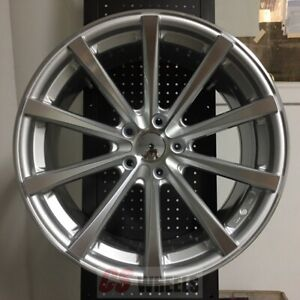 19 Eclipse Style Silver Concave Wheels Rims Honda Accord Sport Civic Si