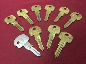 Fiat By Curtis Automotive Ft46 Ft45 Key Blanks Set Of 10 Locksmith