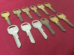 Gm B47k Key Blanks By Curtis Set Of 12 Locksmith