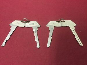 Tec Toshiba Cash Register D E Keys Set Of 4 Locksmith