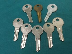 Slaymaker By Ilco Curtis Taylor Sl1 Key Blanks Set Of 8 Locksmith