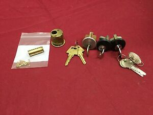Yale Original Aftermarket Rim Cylinders W working Keys Set Of 4 Locksmith
