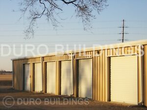 Duro Steel Mini Self Storage 30x60x8 5 Metal Prefab Building Structures Direct