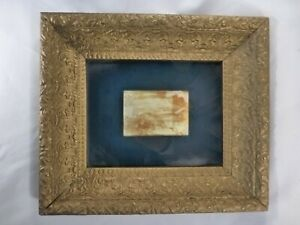 Antique Gold Picture Frame 8 X 10 Silver Clip