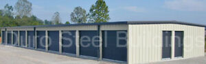 Duro Steel Mini Self Storage 30x70x8 5 Metal Prefab Building Structures Direct