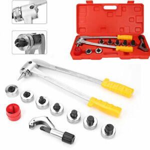 Ct 100 7 Lever Manual Copper Tube Pipe Expander Swaging Hvac Kit Expanding Tool