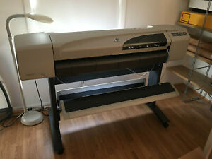 Hp Designjet 500 C7770b 42 Large Format Inkjet Printer Plotter With Stand