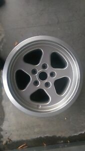 Ruf Speedline Original Rim 17 X 9 Porsche 911 930 Carrera Sc Wheel