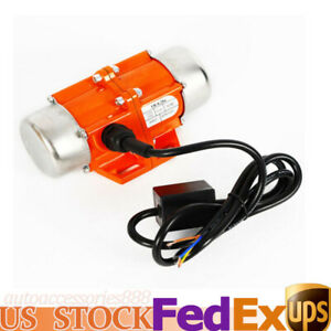 110v Automation Electric Vibrator Motor 1 Phase 50w 3600rpm Aluminum Alloy Shell