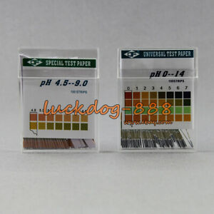 Ph Test Strips For Urine Saliva Body Level 100 Strip Accurate Reliable 4 5 9 0
