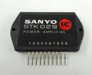 Stk 029 Original Sanyo Audio Ic Power Amplifier Integrated Circuit