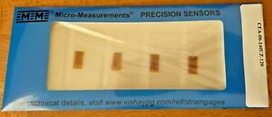 Vishay Measurements Group Cea 06 240uz 120 Strain Gauges 10pks More